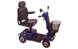 קלנועית מיני עם מושב אורטופדי וסל מקדימה