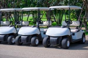 קלנועיות משמשות גם למשחקי גולף בכל העולם