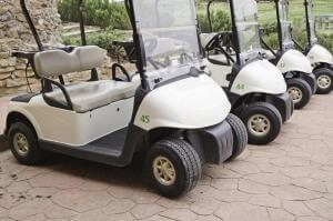 הקלנועיות ליחיד או לזוג היום משמשות גם את משחקי הגולף ועוד תחומים אחרים בספורט